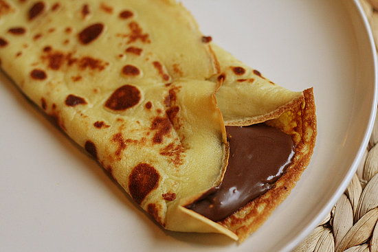 My recent, excellent, use of Nutella: crepes