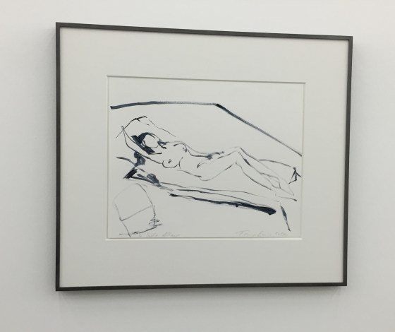 Drawing by Tracey Emin