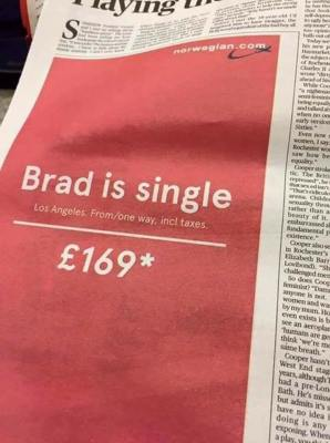 norwegian air ad