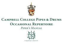 Piper's Manual – Occasional Repertoire