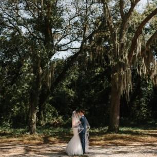 Florida Outdoor Wedding Photo