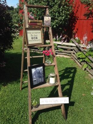 Vermont Barn Wedding Decorations