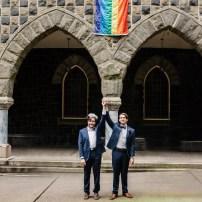 Gay Pride Church in Portland Oregon