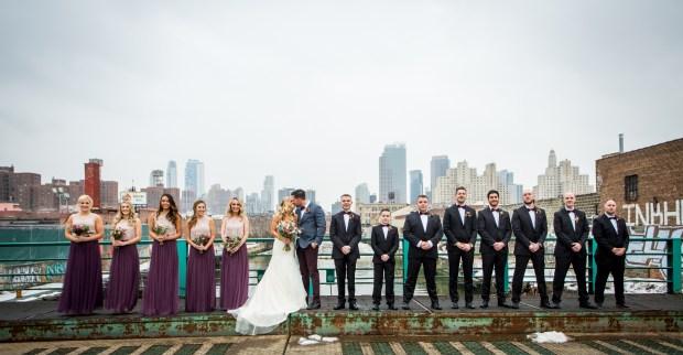 Wedding Party in Gowanus, Brooklyn
