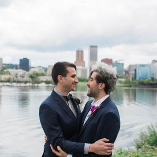 Portland Wedding with Two Grooms