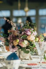 Reception Tablescape at Chelsea Piers Loft