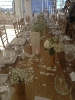 Studio 450 gold and blush tablescape
