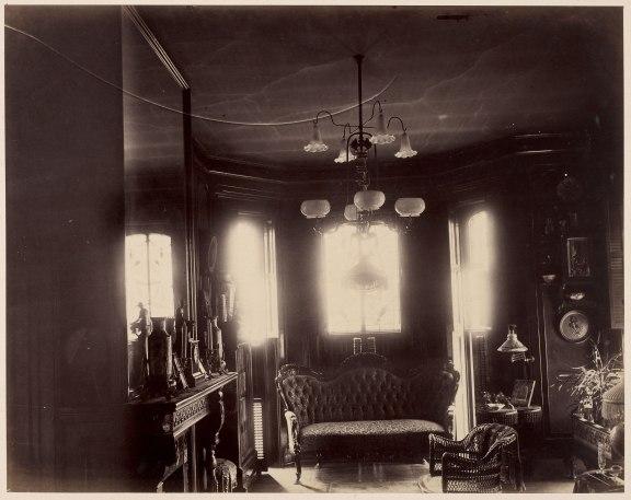 Morning Room looking east, ca. 1885