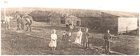 Andrew Hermamson homestead (circa 1886)