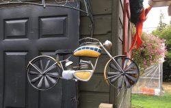 Metal decorative Motorcycle