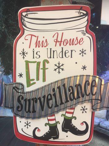 This House is under elf Surveillance