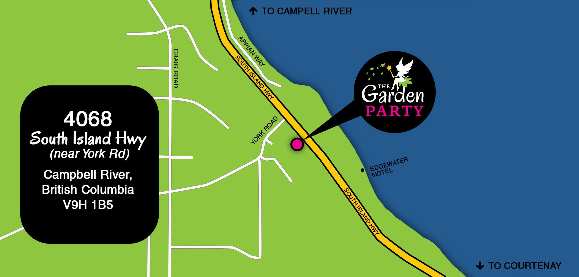 The Garden Party Map