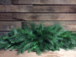 6 Foot Mixed Pine Mantel Garland