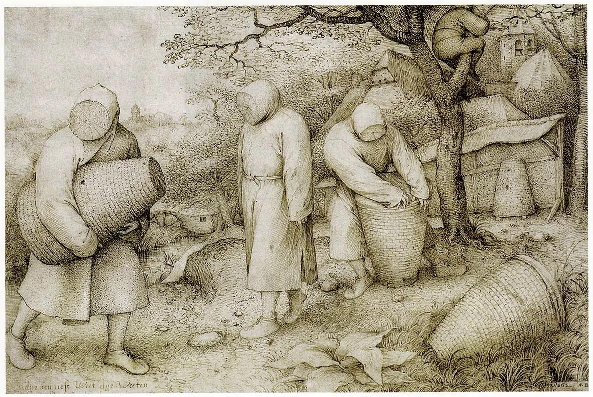 The Beekeepers by Pieter Bruegel