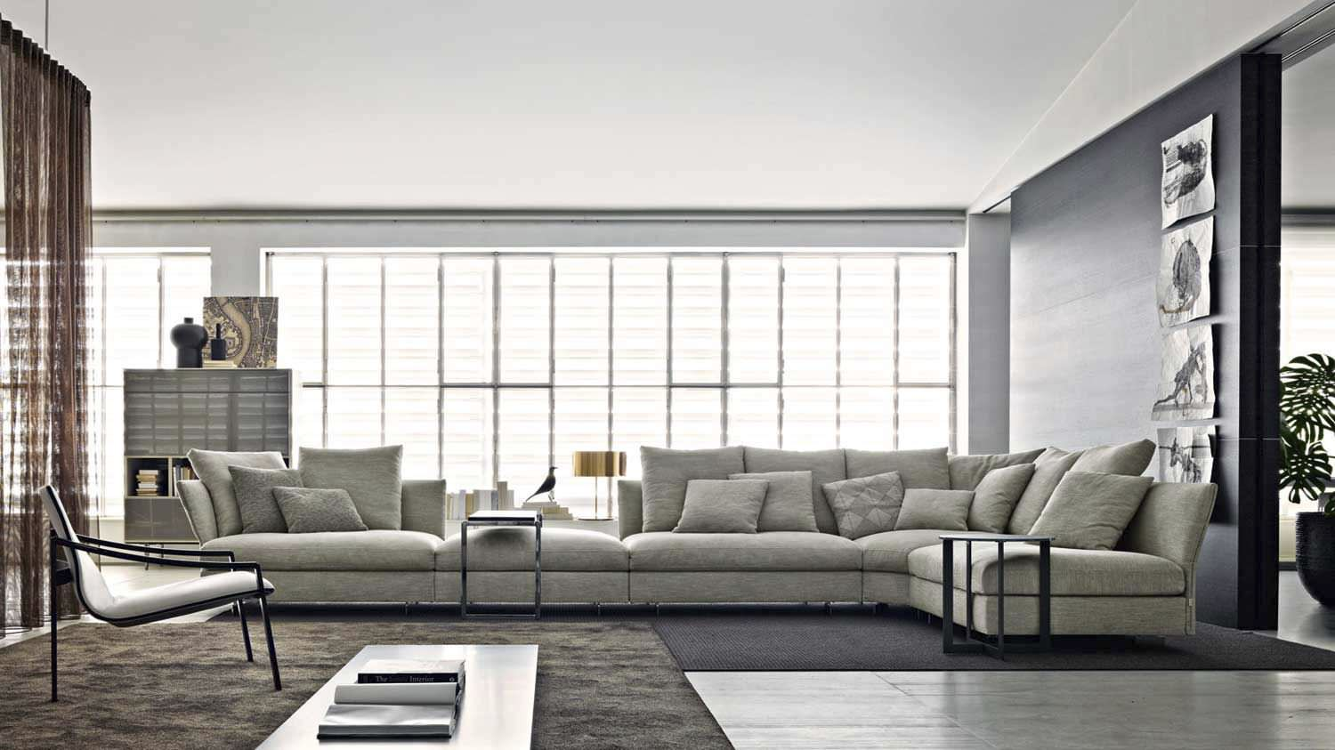 Divano Furniture Reviews Molteni & C Holiday Sofa | Buy From Campbell Watson Uk