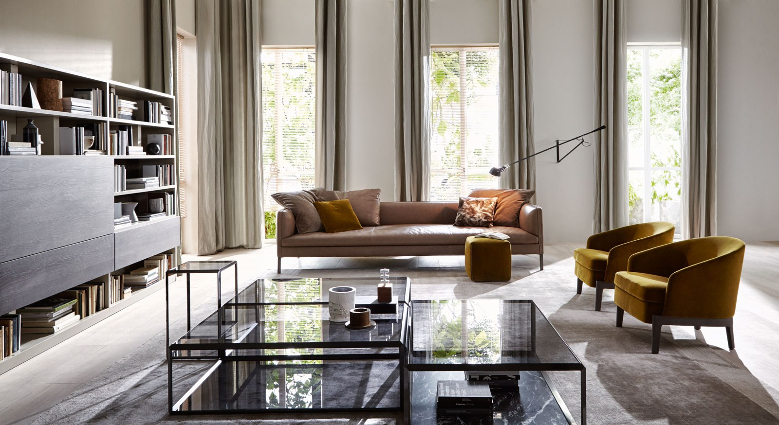 Divano Furniture Reviews Molteni & C Paul Sofa | Buy From Campbell Watson Uk