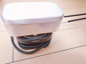 ヤザワ トラベルマルチクッカー 車中泊 ポータブル電源 バッテリー キャンピングカー メスティン