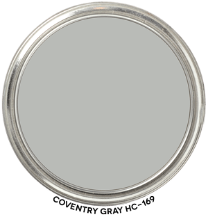 Coventry Gray HC-169 by Benjamin Moore