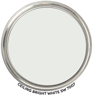 Ceiling Bright White 7007 by Sherwin-Williams Paint Blob