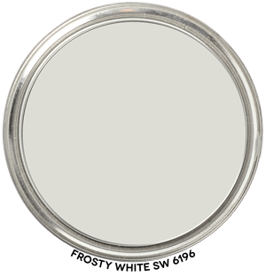 Frosty White 6196 by Sherwin-Williams