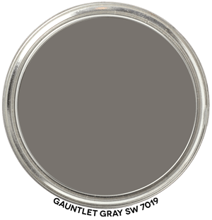 Gauntlet Gray SW 7019 by Sherwin Williams