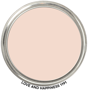 Love and Happiness 1191 by Benjamin Moore Paint Blob
