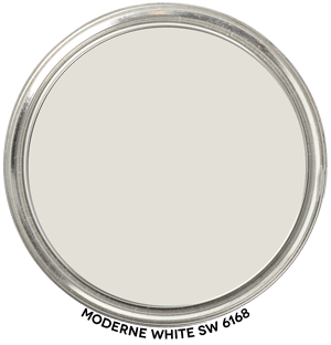 Moderne White 6168 by Sherwin-Williams
