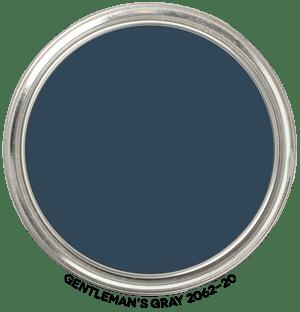 Gentleman's Gray 2062-20 by Benjamin Moore Paint Blob