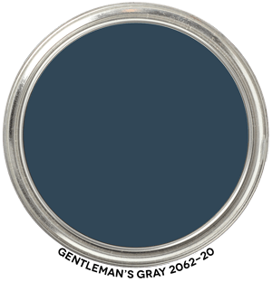 Gentleman's Gray 2062-20 by Benjamin Moore Paint Blob