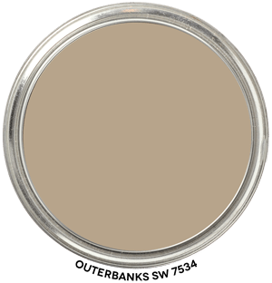 Outerbanks 7534 by Sherwin-Williams Paint Blob