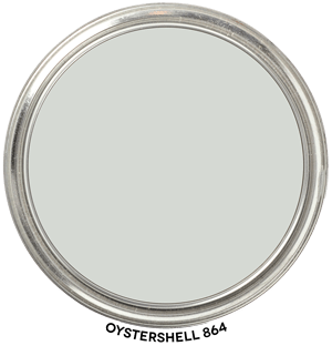 Oystershell 864 by Benjamin Moore Paint Blob