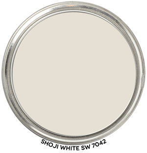 Shoji White 7042 by Sherwin-Williams Paint Blob