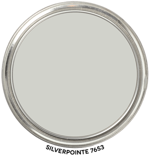 Silverpointe SW 7653 by Sherwin-Williams Paint Blob