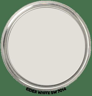 Paint Blob Eider-White-SW-7014