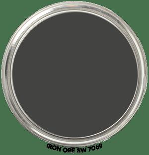 Paint Blob Iron-Ore-SW-7069