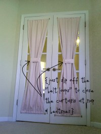 how to make french door curtains | Curtain Menzilperde.Net
