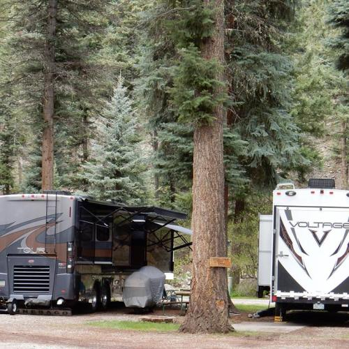 Cool and refreshing Blue Spruce RV Park & Cabins