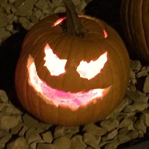 Halloween at a Colorado campground