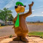 Campground Mascot at Yogi Bear's Jellystone Park of Black Canyon in Montrose
