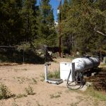 Propane, LP, is available at Sugar Loafin' RV Campground in Leadville Colorado