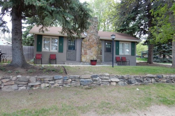 Rental cabins available at Fireside Cabins and RV Park in Loveland CO