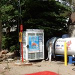 Estes Park KOA Colorado destination campground sells propane