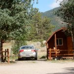 Estes Park KOA Colorado destination campground has rental cabins