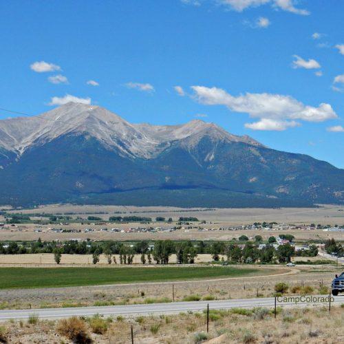 Traveling by RV near Buena Vista Colorado