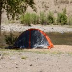 Pagosa Riverside Campground in Pagosa Springs Colorado (tent camping)