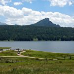Williams Reservoir is about 5 minutes from Sportsman's Campground and Mountain Cabins