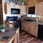 Junction West RV Park, in Grand Junction Colorado CABIN KITCHEN