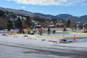Ice skating (photo courtesy South Fork Visitor Center)