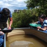 Gold panning at Middlefork RV Resort Fairplay CO