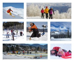 Winter Fun! (images courtesy of South Fork Visitor Center)